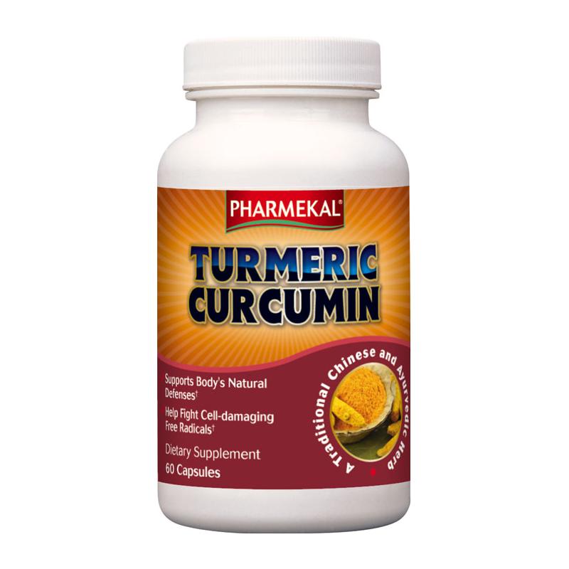 Pharmekal Turmeric Curcumin 60 kap.