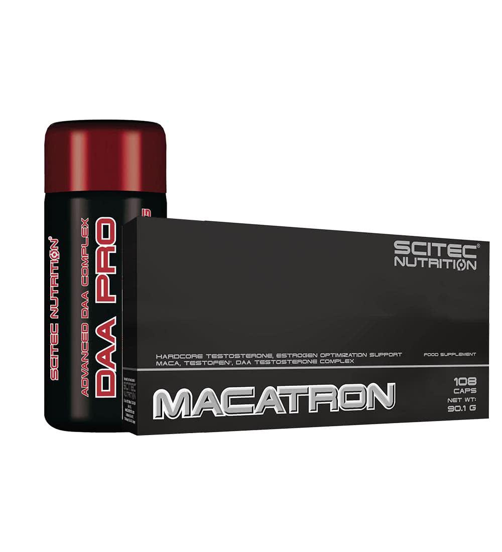 Scitec Nutrition Macatron + DAA Pro szett