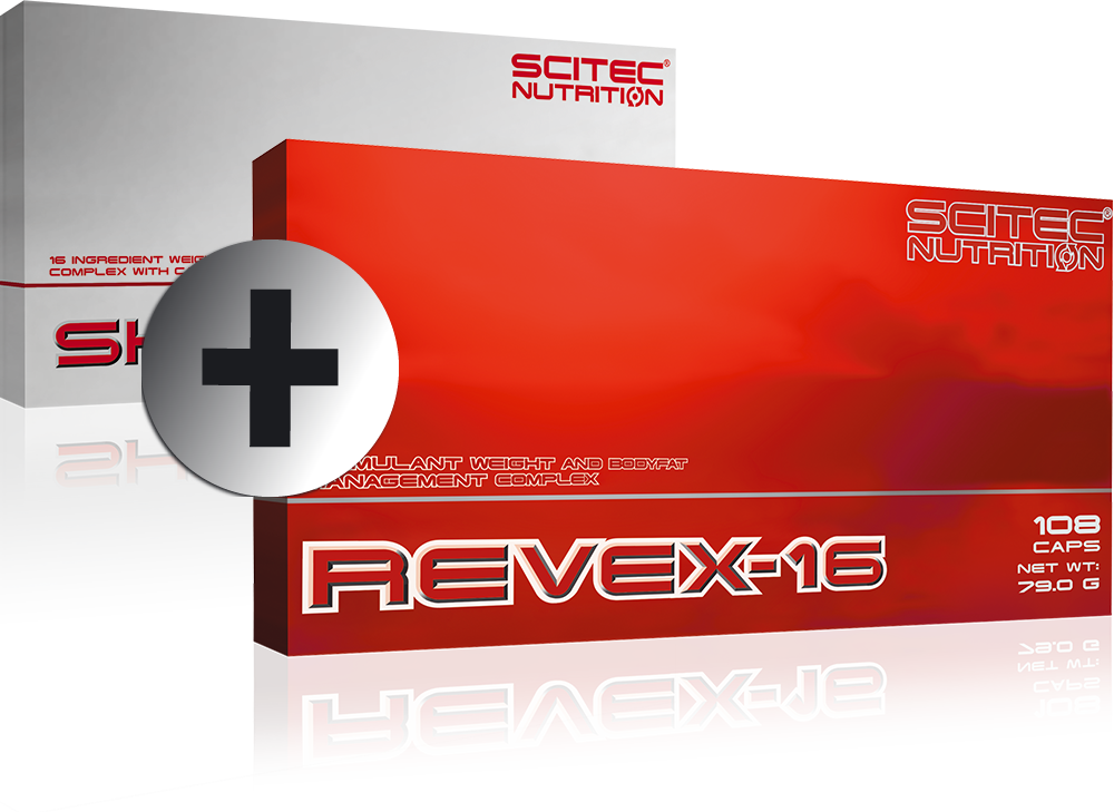 Scitec Nutrition Revex-16 + Shredex szett