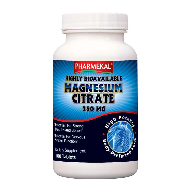 Pharmekal Magnesium Citrate 100 tab.