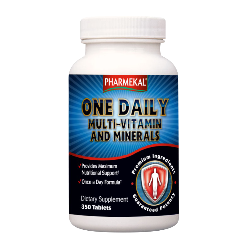 Pharmekal One Daily Multi-Vitamin and Minerals 350 tab.
