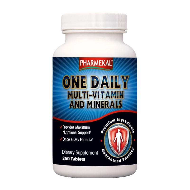 Pharmekal One Daily Multi-Vitamin and Minerals 350 tab.