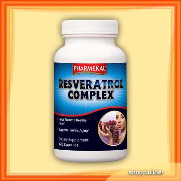 Pharmekal Resveratrol Complex 120 kap.