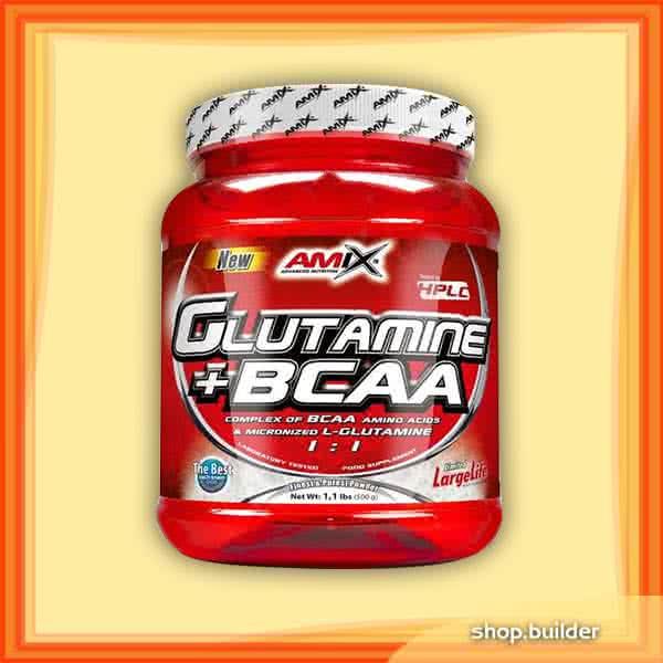 Amix L-Glutamine + BCAA 500 gr.