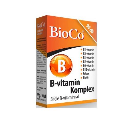 BioCo B-Vitamin Komplex 90 tab.