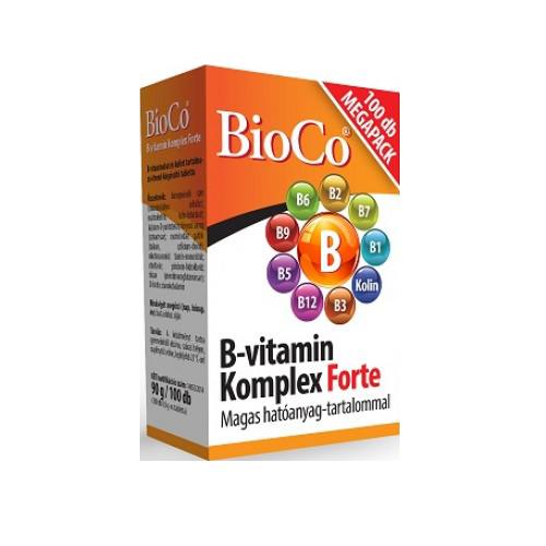 BioCo B Vitamin Komplex Forte 100 tab.