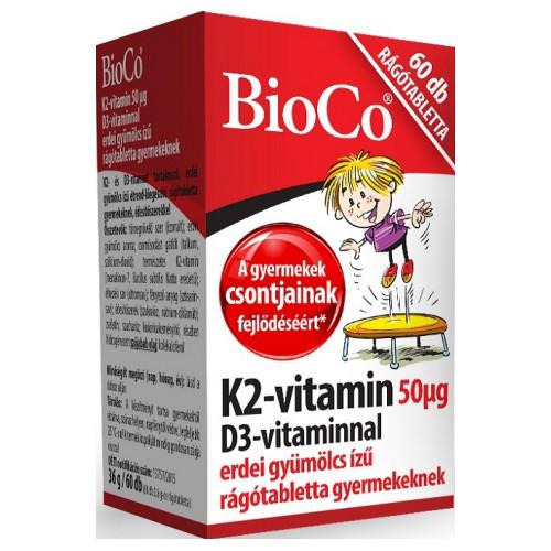 BioCo K2-vitamin D3-vitaminnal 60 r.t.