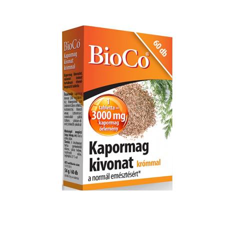 BioCo Kapormag kivonat krómmal  60 tab.