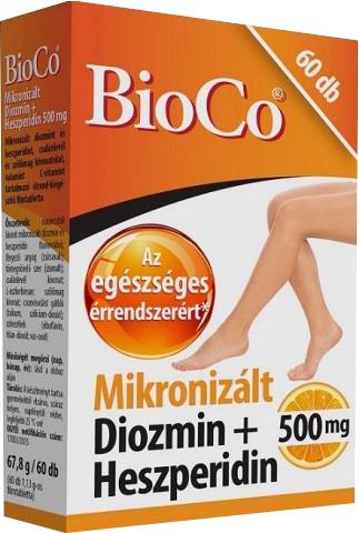 BioCo Mikronizált Diozmin+Heszperidin 60 tab.
