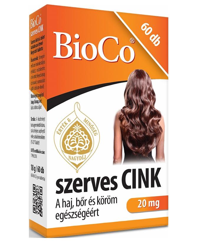 BioCo Szerves Cink 60 tab.