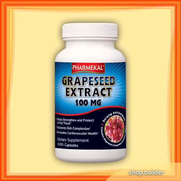 Pharmekal Grapeseed Extract 100 kap.