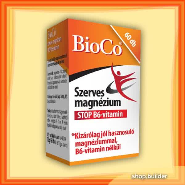 BioCo Szerves Magnézium STOP B6 60 tab.