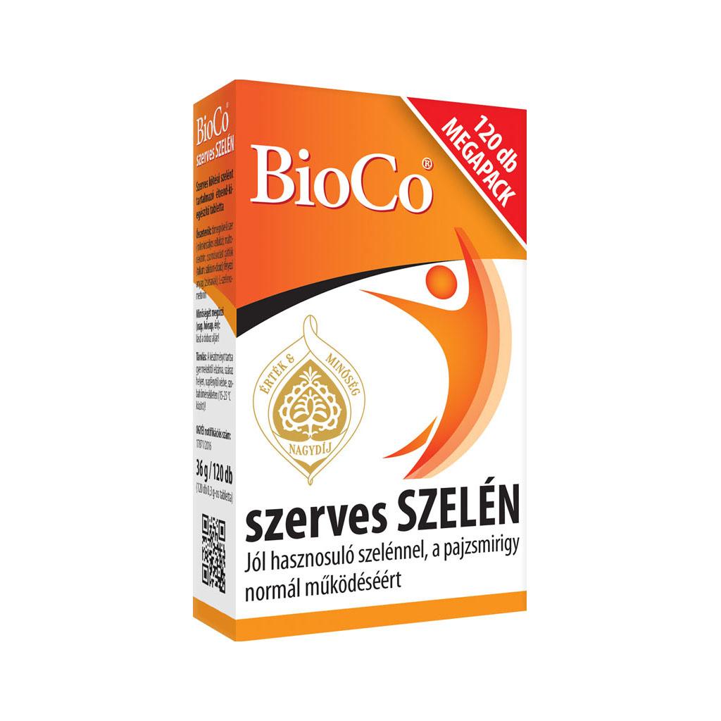 BioCo Szerves Szelén 120 tab.