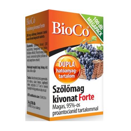 BioCo Szőlőmag kivonat Forte 100 tab.