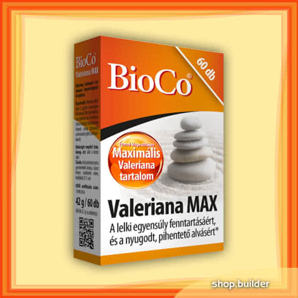 BioCo Valeriana MAX 60 tab.