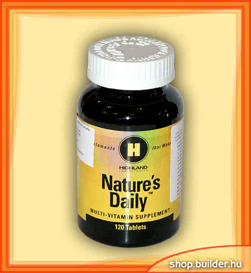 Highland Natures Daily 120 tab.