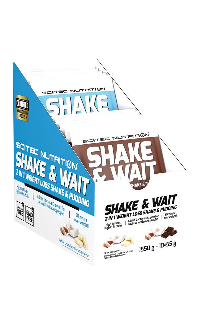 Scitec Nutrition Shake & Wait Box 10x55 g