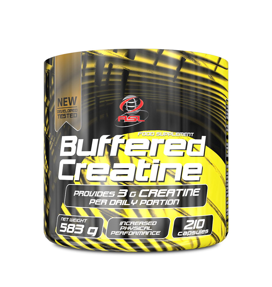 AllSports Labs Buffered Creatine 210 kap.