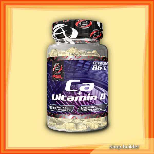 AllSports Labs Ca+Vitamin D 60 g.k.