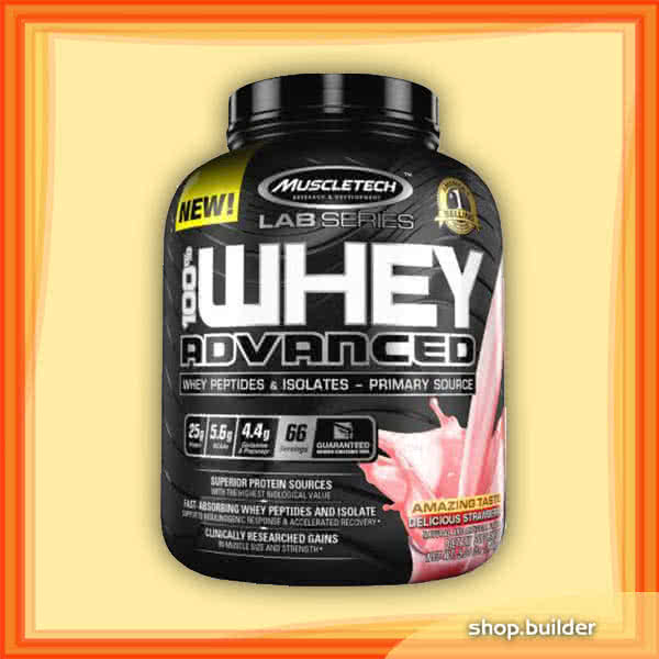 MuscleTech 100% Whey Advanced 2,27 kg