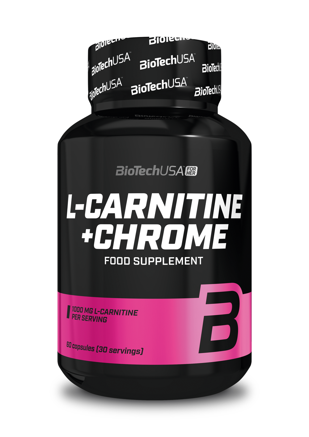 BioTech USA L-Carnitine + Chrome 60 kap.