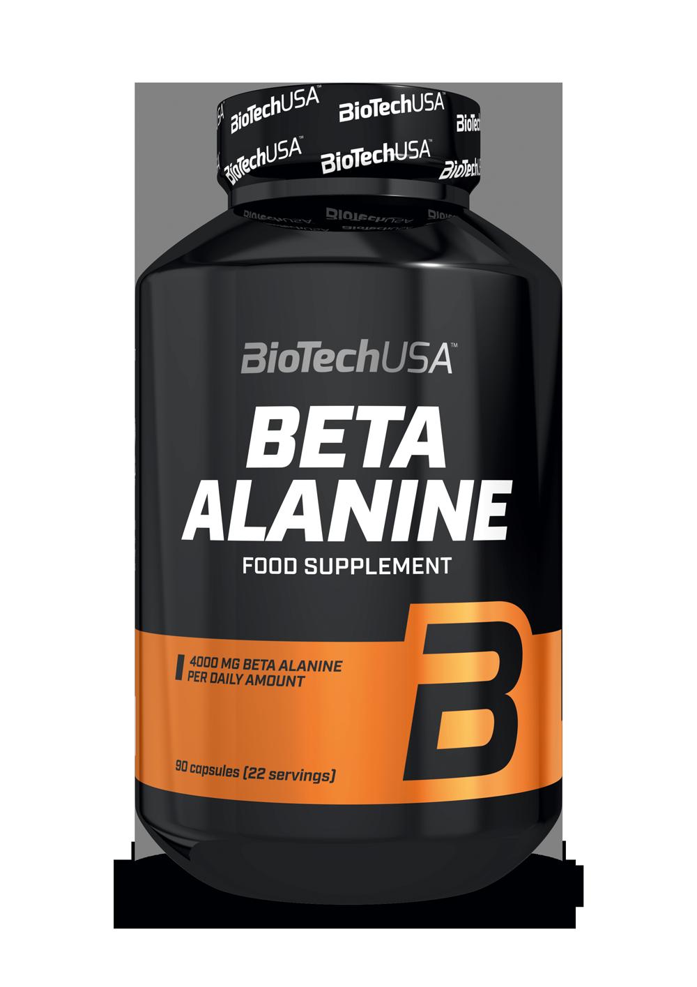 BioTech USA Beta-Alanine Mega Caps 90 kap.