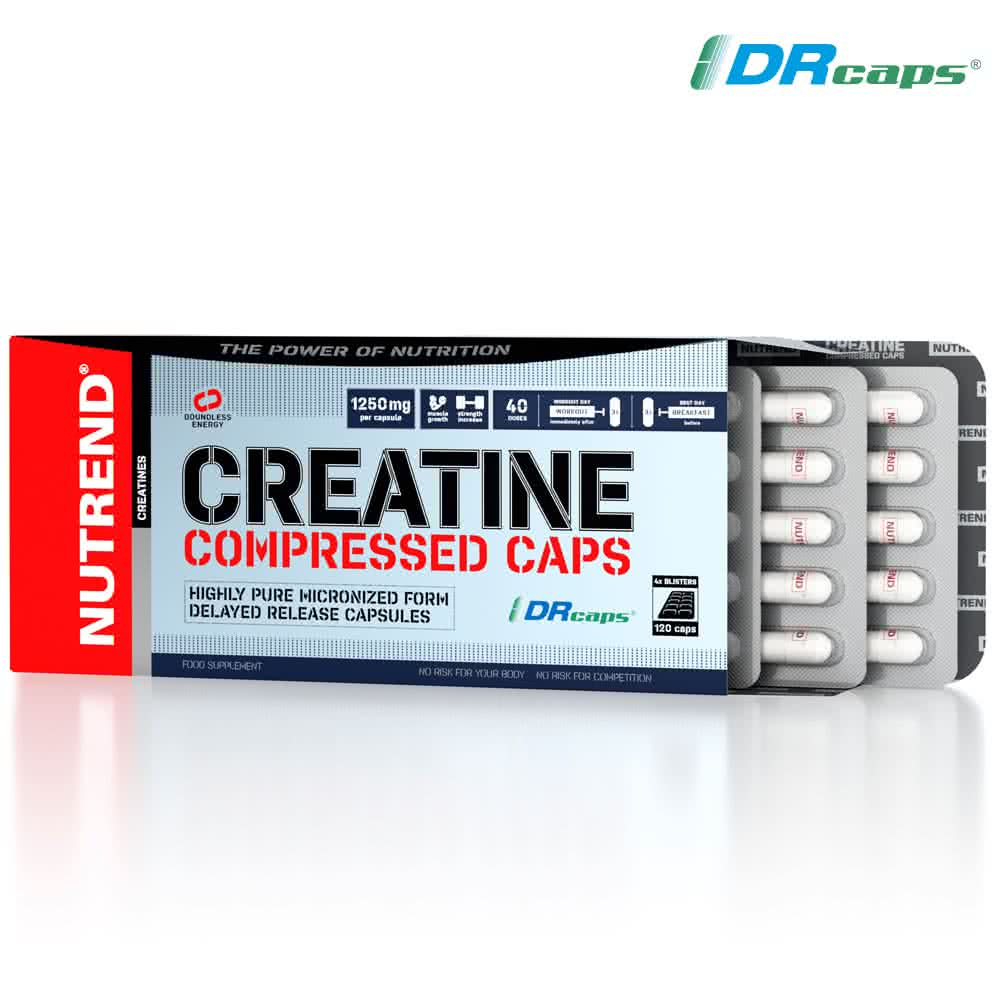 Nutrend Creatine Compressed Caps 120 kap.