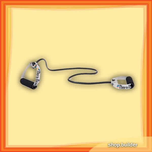 Thera Band Gumikötél szivacsos fogantyúpárral 140 cm, szuper erős
