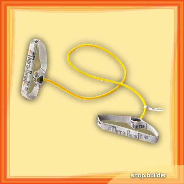 Thera Band Gumikötél flexibilis fogantyúpárral, gyenge