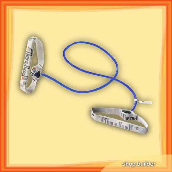Thera Band Gumikötél flexibilis fogantyúpárral, extra erős