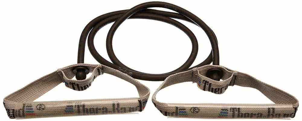 Thera Band Gumikötél flexibilis fogantyúpárral, szuper erős