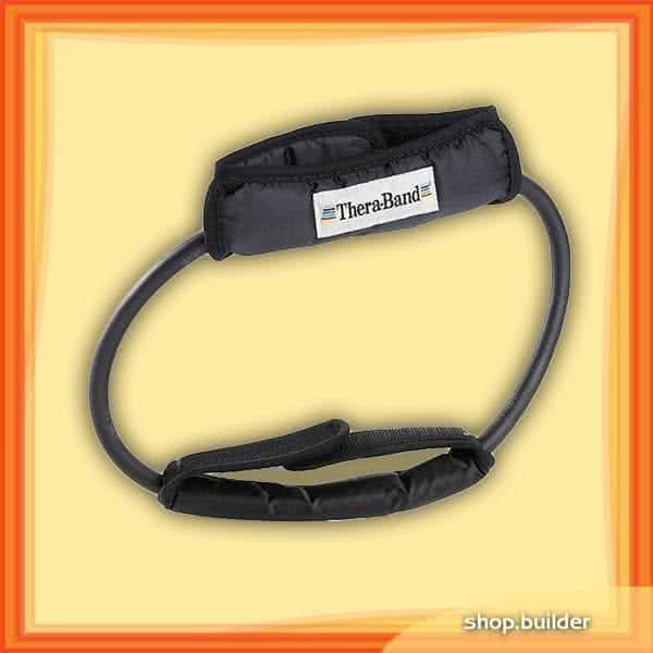 Thera Band Tubing Loop gumikötél hurok fogantyúval, szuper erős
