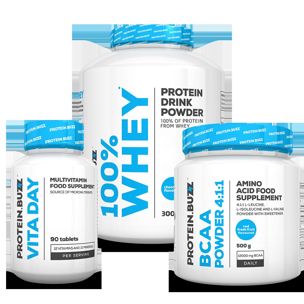 Protein Buzz Get Lean Muscle Csomag szett
