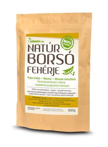Netamin Natúr Borsó Fehérje 0,5 kg