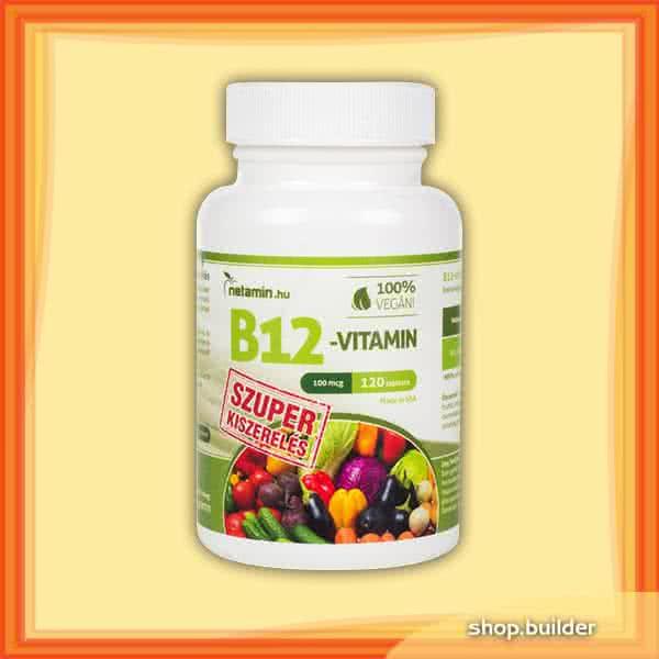 Netamin B12-vitamin (Szuper Kiszerelés) 120 tab.