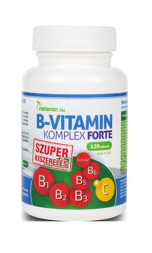 Netamin B-Vitamin Komplex Forte 120 tab.