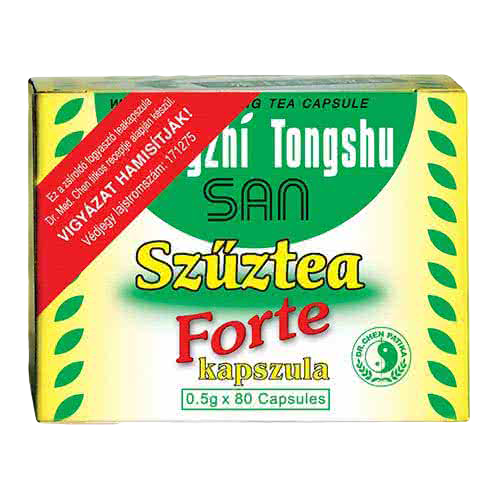 Dr. Chen Patika Szűztea Forte kapszula 80 kap.