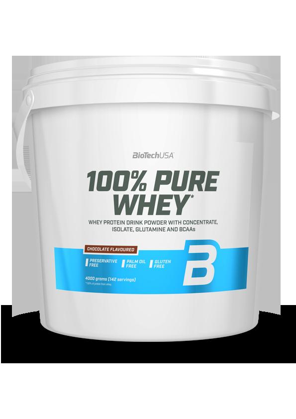 BioTech USA 100% Pure Whey 4 kg