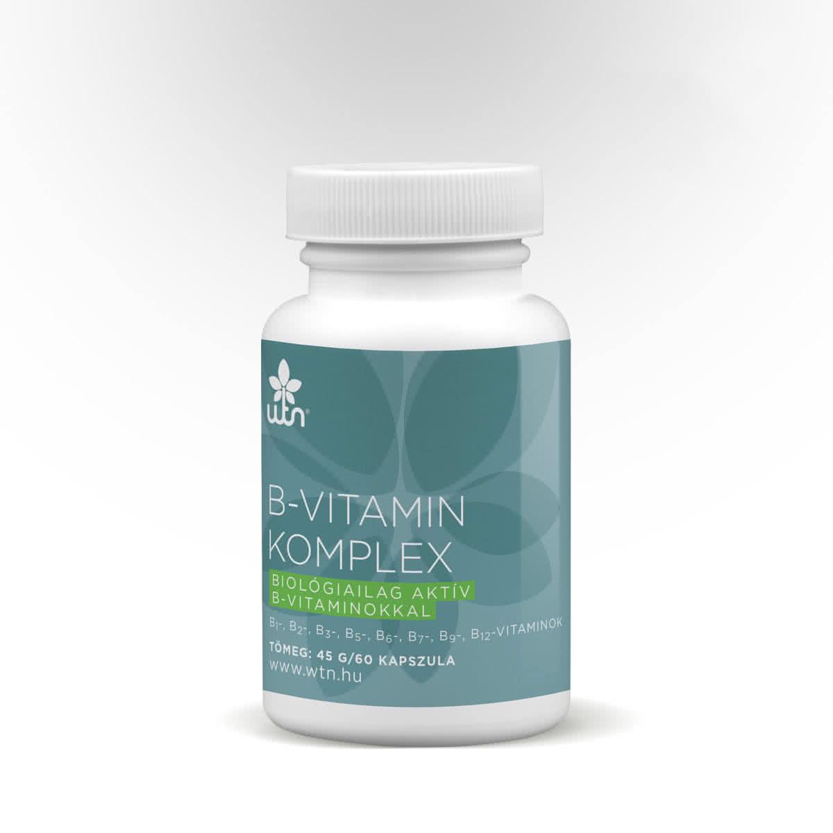 Wise Tree Naturals B-vitamin komplex 60 kap.