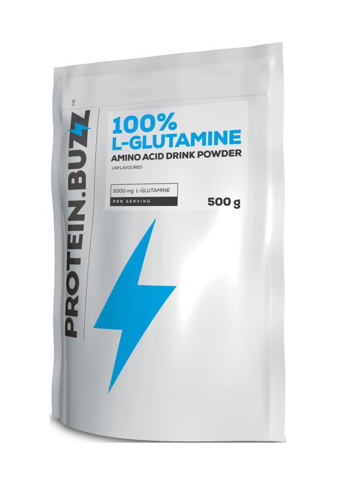 Protein Buzz 100% Glutamine 500 gr.