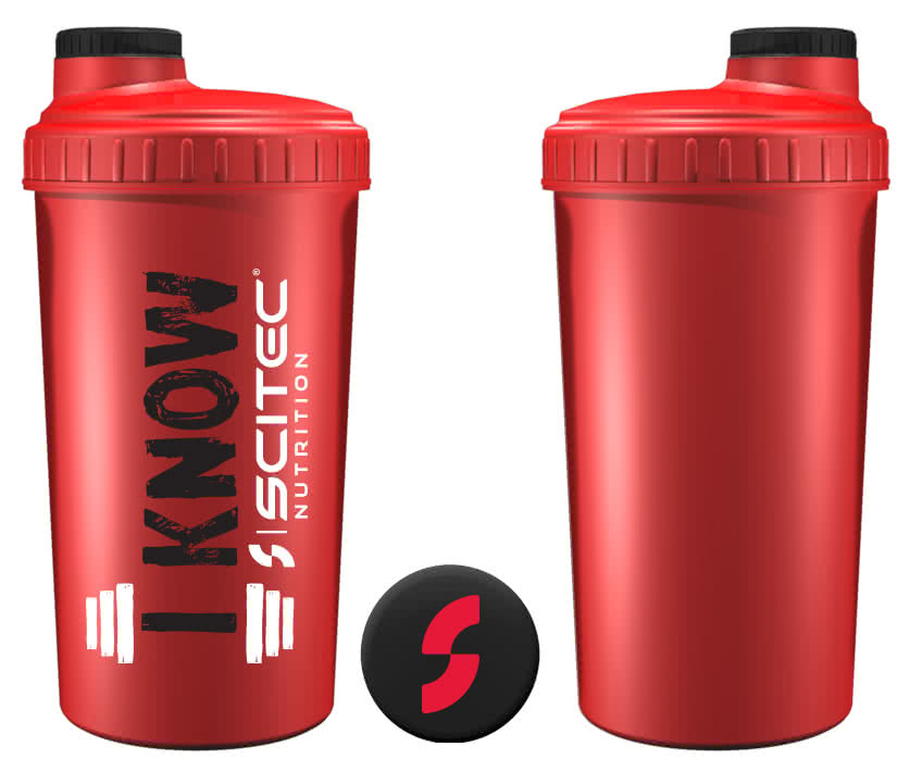 Scitec Nutrition I Know Shaker