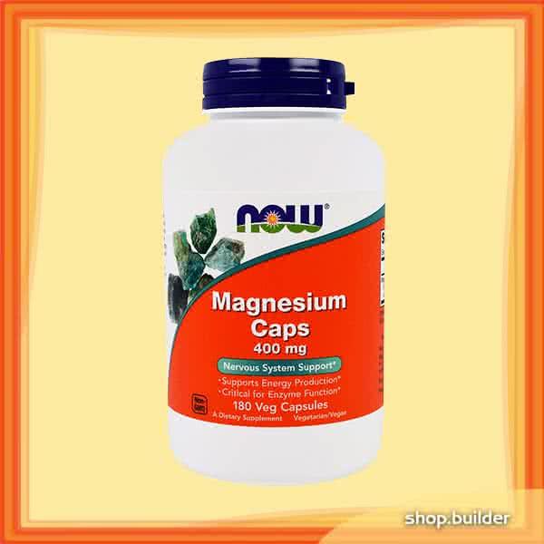 Now Foods Magnesium Caps 180 kap.