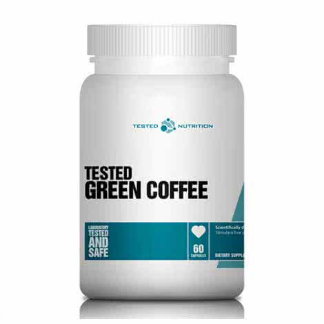 Tested Nutrition Green Coffee 60 kap.