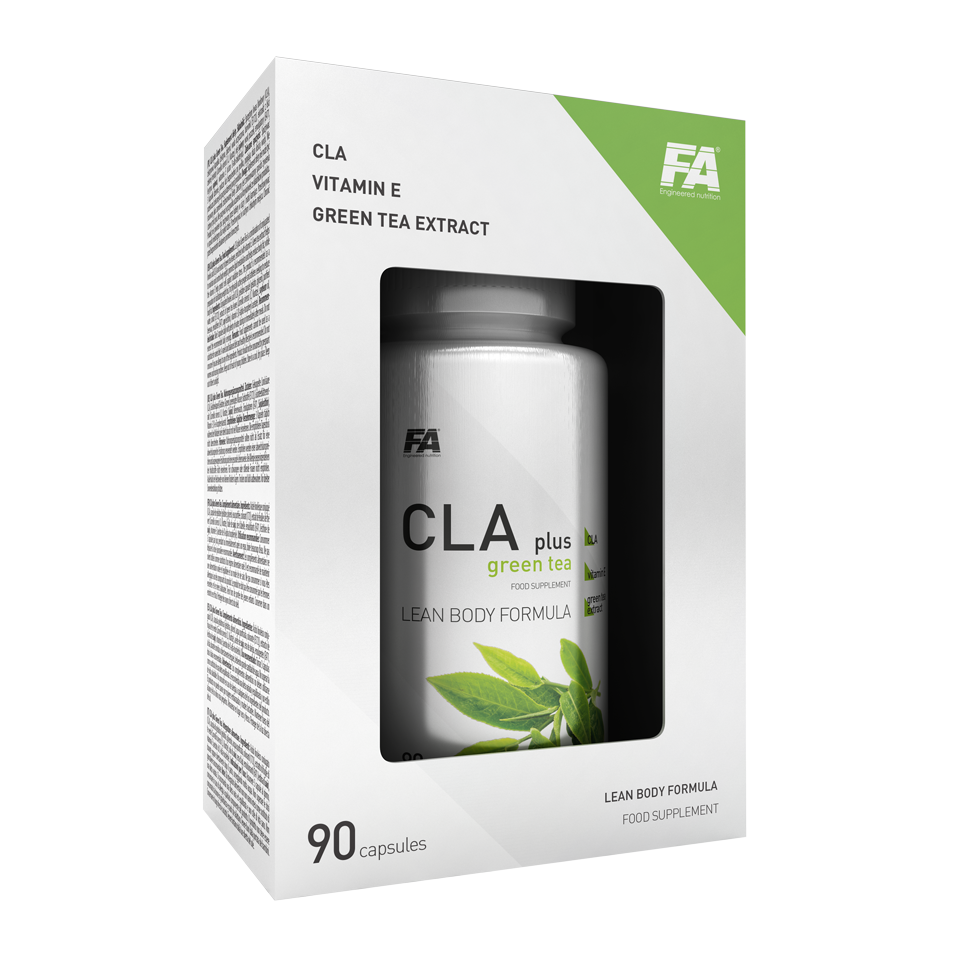 Fitness Authority CLA + Green Tea 90 kap.
