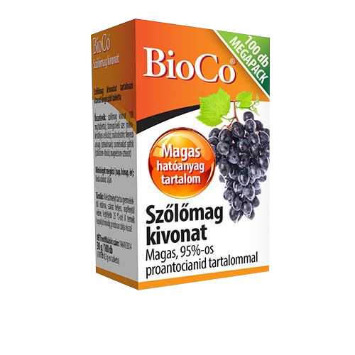 BioCo Szőlőmag kivonat 100 tab.