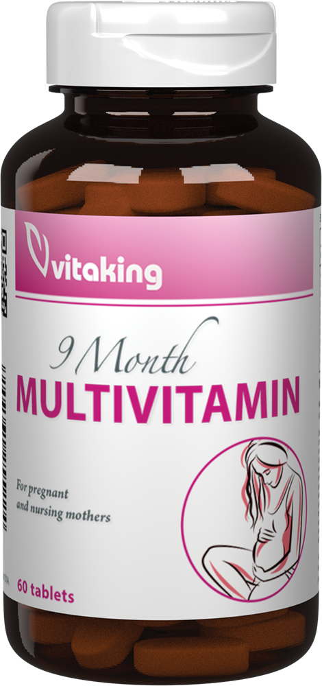VitaKing 9 hónap multivitamin 60 tab.