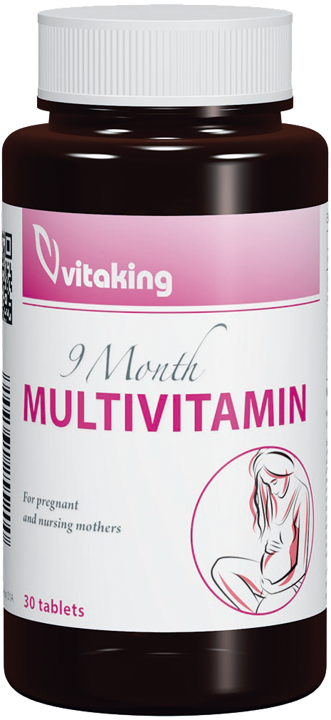 VitaKing 9 hónap multivitamin 30 tab.