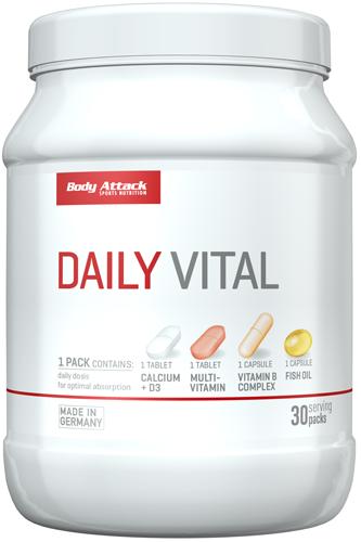 Body Attack Daily Vital 30 pak.