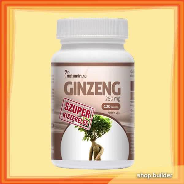 Netamin Szuper Ginzeng 250 mg 120 tab.