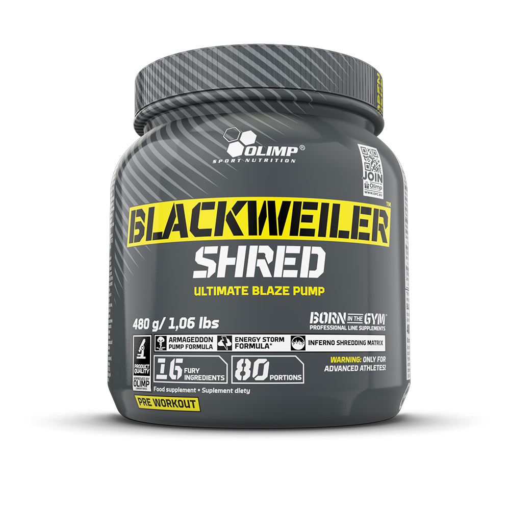Olimp Sport Nutrition Blackweiler Shred 480 gr.